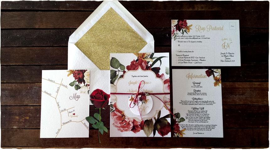 Beech tree creative personalised wedding invitations and custom beech tree creative personalised wedding invitations and custom stationery auckland nz stopboris Gallery